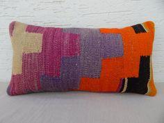 10x20 Decorative Kilim Lumbar Pillow Cover   Etsy