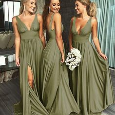 Summer V Neck Sexy Bridesmaid Dress Long Maid of Honor Women Wedding Evening Gown V Neck Evening Dress, Wedding Dresses, Bridesmaid Dresses Sexy, Evening Dress V-neck, Bridesmaid Dresses Wedding Dresses 2018 Wedding Evening Gown, Sexy Evening Dress, Evening Dresses, Dresses Dresses, Wedding Gowns, Prom Gowns, Formal Dresses, Party Dresses, Dresses Online