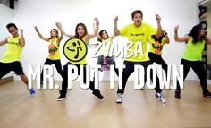Mr. Put It Down by Ricky Martin feat. Pitbull | Zumba® | Live Love Party