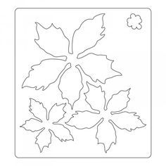 Poinsettia flower template III copy - Her Crochet Clay Christmas Decorations, Christmas Projects, Felt Crafts, Christmas Crafts, Paper Crafts, Christmas Ornaments, Christmas Stockings, Felt Flowers, Diy Flowers