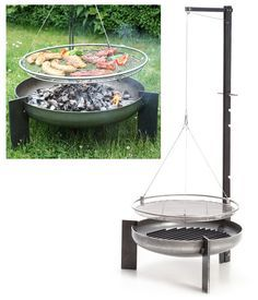 Great backyard grill, love the simple design. So much nicer than that ugly square block