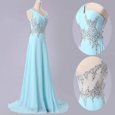**************************************************** & Dress Description ***************************************************** 1.Fabric:Chiffon satin 2.Color: Optional Color. 3.Size: Stardard Size or Custom Size 4.Delivery Time:3-4 Weeks 5.Refund Policy: Accepte Full Refund with Requiremen...