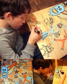 Blog: Junk Doodle/uberkraaft Winner - Doodlers Anonymous