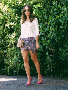 Look Confortável com Short Saia #gabimay #lookdodia #ootd
