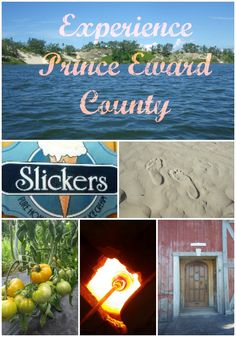 Prince Edward County Collage LIP- Slickers is a tiny ice cream parlour. Try Campfire , from actual toasted marshmallows. Family Vacation Spots, Vacation Trips, Family Travel, Prince Edward County Ontario, Belleville Ontario, Girls Getaway, Prince Edward Island, Romantic Getaway, Amazing Destinations