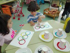 "Juntos descubrimos el mundo: UNIDAD DIDÁCTICA 10: ""LAS OLIMPIADAS"" Olympic Games For Kids, Olympic Idea, Kindergarten Activities, Art Activities, Human Body Crafts, Kids Night Out, Kids Olympics, Sport Craft, Sports Day"