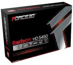 Force3D ATI Radeon HD5450 Video Graphics Card HDMI 2 GB HD1080 with Low profile bracket for slimline case by Force3d. $54.00. Design and made by AMD authorized board partner Force3D ,powered by the ATI Radeon HD 5450 graphics processing unit (GPU) With Microsoft DirectX 11 support to provide graphics power for the most demanding games. 2GB DDR3 on-board memory Along with 80 stream processors provides the memory needed for visual realism. VGA, DVI-I and HDMI For flexi...