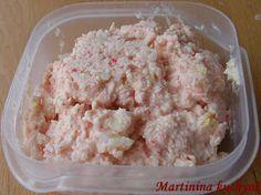 Martinina kuchyně: Krabí pomazánka Czech Recipes, Ethnic Recipes, Sandwich Fillings, Krabi, Party Snacks, Ham, Potato Salad, Mashed Potatoes, Food And Drink