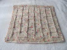Free Knitting Pattern - Dishcloths & Washcloths : Chequered Dishcloth