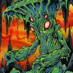 The Art of Skinner | Artwork | Myconid Fungus Man