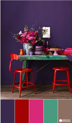 Io stile, ma soprattutto i colori che decidiamo di utilizzare quando arrediamo la nostra casa parlano agli altri di noi, della nostra personalità, e di ciò
