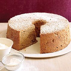 13 healthy desserts | Espresso Angel Food Cake | Sunset.com