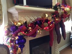 N 4 Events - Fireplace Christmas Decoration, Fireplace Christmas Decorating Ideas, How to Decorate Your Mantel for Christmas, Christmas Fireplace Decoration Design Ideas, Holiday Mantels