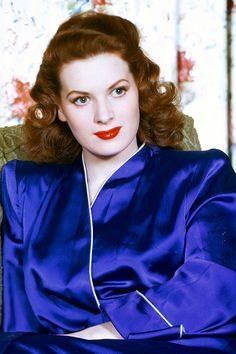 Maureen O'Hara, 1950.