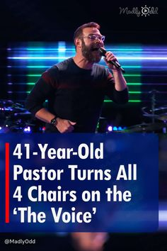 """After getting through just one line of a song, this 41-year-old pastor's voice had three out of the four judges turned around. By the end of a jaw-dropping version of """"We've Got Tonight,"""" the contestant got to choose from all four judges. #TheVoice #BlakeShelton #BobSeger"""