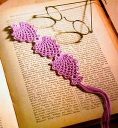 Free Crochet Bookmark Patterns - Quick, Easy Crochet Gifts