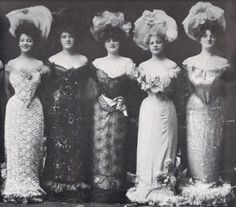 Pidgeon bodices, hobble skirts and huge hats---hobble skirts and Pidgeon bodices were the worst fashion idea EVER!