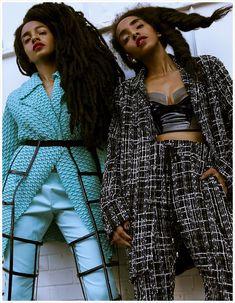 Cipriana Quann & TK Quann Grace The Cover of FGUK Magazine