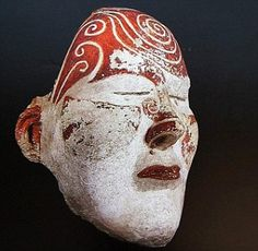 The discovery was made in a giant tomb in Kemerovo region with the remains belonging to the mysterious Tashtyk people, famed for their elaborate funeral rites. Life Cast, Hermitage Museum, Mourning Jewelry, Masks Art, Effigy, Locket Charms, Ocean Art, Memento Mori, Archaeology