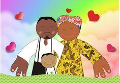Encomenda da Rose, Luanda e família!