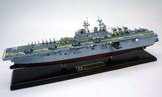 USN - USS Iwo Jima - LHD-7 - Amphibious Ship Model