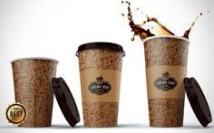 I will add Your Logo On A Beautiful Coffee Cup Mock Up