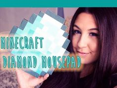 Minecraft- DIY - Diamond MousePad- Thanks For 30K ♥ - YouTube