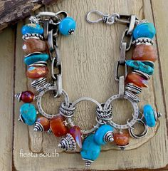 bracelet, turquoise bracelet, carnelian bracelet, southwestern jewelry, turquoise jewelry, bohemian bracelet, boho bracelet, gift for her by soulfuledges on Etsy Lariat Necklace, Pearl Bracelet, Bohemian Bracelets, Jewelry Bracelets, Turquoise Jewelry, Turquoise Bracelet, Xmas Gifts For Her, Southwestern Jewelry, Carnelian