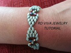 Create your own elegant bracelet, fun and easy to make. Skill Level: Beginners – advanced This tutorial needs to have some experience, know how to tie the knots and weave in your thread ends. I suggest this pattern for beginners to advanced bead weavers. The pattern instruction includes