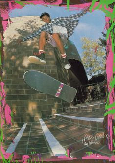 Ray Barbee, flipping.