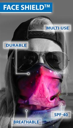 Features of the Multi-Use Face Shields™