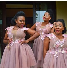 Follow us @SIGNATUREBRIDE on Twitter and on FACEBOOK @ SIGNATURE BRIDE MAGAZINE Glamorous Bridesmaids Dresses, African Bridesmaid Dresses, Lace Bridesmaids, Prom Dresses, Wedding Suits, Wedding Gowns, African Wear Styles For Men, African Dress, Traditional Outfits