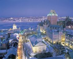 Find amazing deals on holidays to Quebec City. Discover incredible offers on Quebec City holiday packages, find out more today at Thomson Tailormade. Places Around The World, Oh The Places You'll Go, Places To Travel, Places To Visit, Around The Worlds, Travel Destinations, Ottawa, Old Quebec, Quebec City