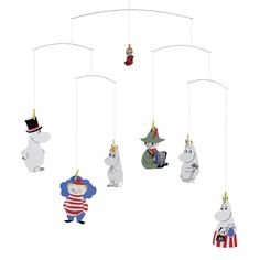 Moomin mobile for my future baby!