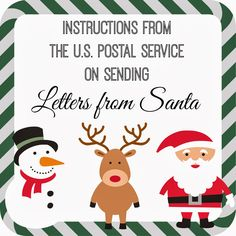 Easy Free Letter From Santa Magical Package  Santa North Pole