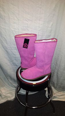 Ukala Sydney High Australian Merino Wool Pink/Rose Boots size 10
