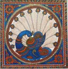 Kalamkari paintings, traditional and contemporary. Art Painting, Indian Art Paintings, Gond Painting, Madhubani Art, Mandala Design Art, Madhubani Painting, Watercolor Fabric, Kalamkari Painting, Art Painting Gallery