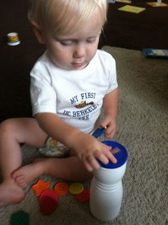 The Activity Mom: Learning with Your 18 Month Old. Link has games and activities for every month with your toddler