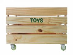 Caixote Rustik Madeira Pinus/ Verde Brinquedos Toy Chest, Storage Chest, Furniture, Home Decor, Kids Wood, Crates, Infant Room, Activity Toys, Colors