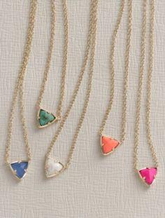 colorful stone pendant necklaces