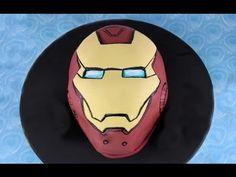 Iron Man Cake (HOW TO) MyCupCakeAddiction Collaboration - YouTube