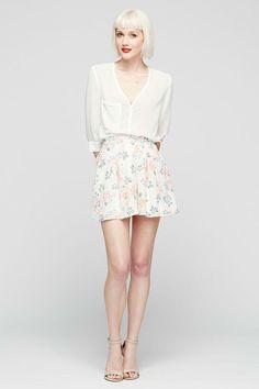 <ul> <li>High-waisted flirty shorts</li> <li>Fully lined</li> </ul>