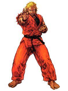 Tags: King of Fighters, Official Art, Nishimura Kinu, Sakazaki Ryo