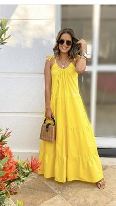 Casual Summer Outfits, Chic Outfits, Dress Outfits, Dress Up, Fashion Outfits, Womens Fashion, Nice Dresses, Casual Dresses, Summer Dresses
