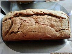 Pindakaasbrood koolhydraatarm - Past bij LCHF en Broodbuik