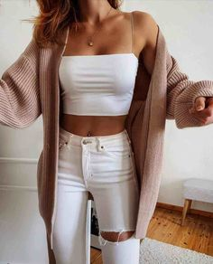 Girls Fashion Clothes, Winter Fashion Outfits, Fall Outfits, Summer Outfits, Cute Comfy Outfits, Simple Outfits, Stylish Outfits, Casual College Outfits, Teenager Outfits