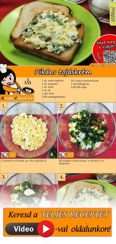 Veggie Recipes, Baby Food Recipes, Wine Recipes, Salad Recipes, Cooking Recipes, Healthy Recipes, Hungarian Recipes, Recipes From Heaven, Perfect Food