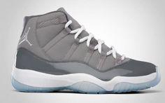 online store 67f15 37dcd Jordan Retro 11 Cool Grey  175 Tenis, Zapatos Gratis Nike, Zapatillas Jordan  Retro,