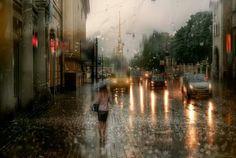 A poesia da chuva