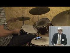 Inspiration comes where you look for it.... Dan Weiss's drum interpretation of auctioneer Ty Thompson